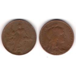 (843) Francia. 1913. 10 Centimes (BC)