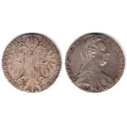 Austria. 1708. Thaler (MBC) (Plata) Reacuñación
