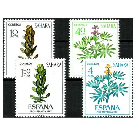 Sahara Español. 1967. Serie Completa. Pro Infancia (Nuevo)