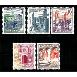 (2724 a 2728) 1983. Serie Completa. Paisajes y Monumentos (Nuevo)