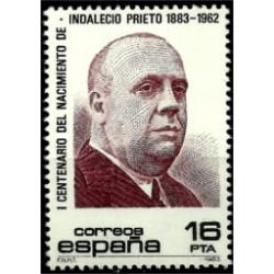 (2731) 1983. 16 Pesetas. Cent. nac. Indalecio Prieto (Nuevo)