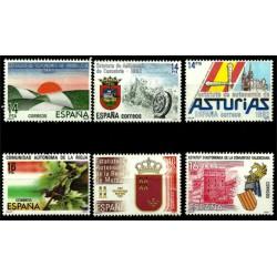 (2686 a 2691) 1983. Serie Completa. Estatutos de Autonomía (Nuevo)