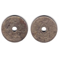 (68.1) Bélgica. 1927. 25 Centimes (RC+)