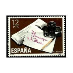 (2610) 1981. 12 Pesetas. Homenaje a la Prensa (Nuevo)