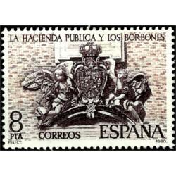 (2573) 1980. 8 Pesetas. La Hacienda Pública y los Borbones (Nuevo)