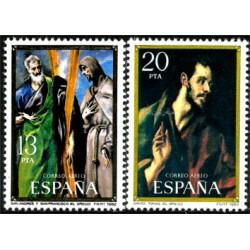(2666-2667) 1982. Serie Completa. Homenaje a El Greco (Nuevo)