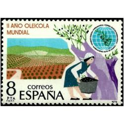 (2557) 1979. 8 Pesetas. II Año Oleícola Internacional (Nuevo)
