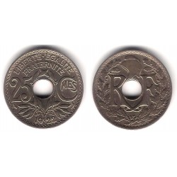 (867a) Francia. 1922. 25 Centimes (EBC)