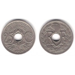 (867a) Francia. 1918. 25 Centimes (MBC+)