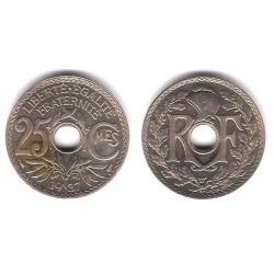 (867a) Francia. 1937. 25 Centimes (SC)