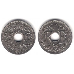 (867) Francia. 1915. 25 Centimes (SC)