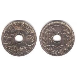 (867b) Francia. 1939. 25 Centimes (SC)