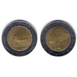(111) Italia. 1988(R). 500 Lira (MBC)