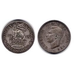 (853) Gran Bretaña. 1945. 1 Shilling (MBC-) (Plata)