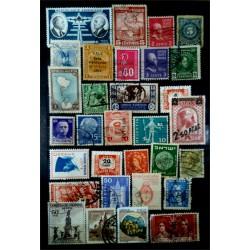 Lote de sellos de varios paises (31 uds)