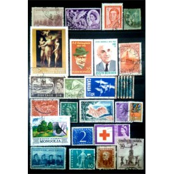 Lote de sellos de varios paises (25 uds)