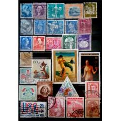 Lote de sellos de varios paises (28 uds)