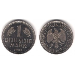 (110) Alemania. 1992(F). 1 Mark (EBC)