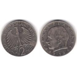 (116) Alemania. 1958(G). 2 Mark (EBC-)