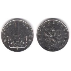 (7) República Checa. 1997. 1 Koruna (EBC)