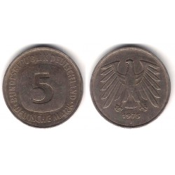 (140.1) Alemania. 1975(J). 5 Mark (MBC)