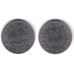 (205) Bolivia. 1987. 1 Boliviano (RC)