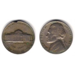 (A192) Estados Unidos de América. 1953. 5 Cents (BC-)