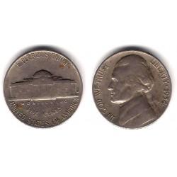 (A192) Estados Unidos de América. 1954. 5 Cents (BC)