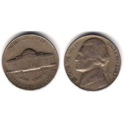 (A192) Estados Unidos de América. 1947. 5 Cents (MBC)