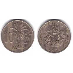 (10.1) Nigeria. 1973. 10 Kobo (MBC)