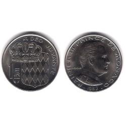 (140) Mónaco. 1982. 1 Franc (SC)
