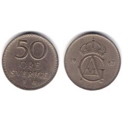 (837) Suecia. 1967. 50 Ore (MBC)