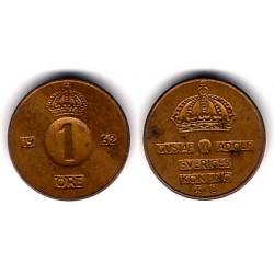 (820) Suecia. 1962. 1 Ore (MBC)