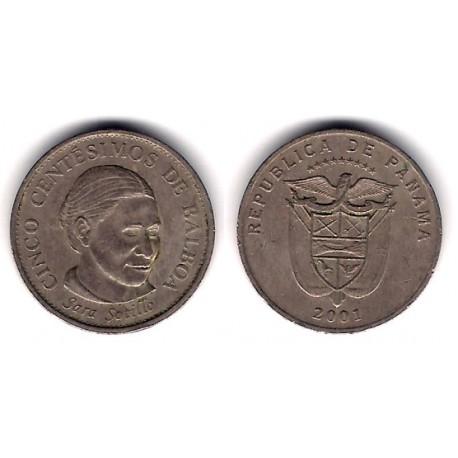 (133) Uruguay. 2001. 5 Centesimos (MBC)