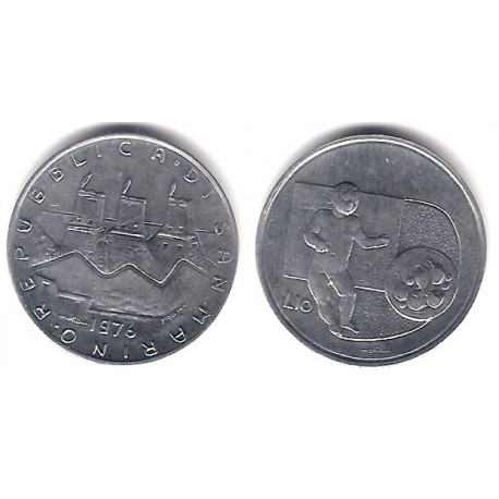 (57) San Marino. 1976. 10 Lira (SC)