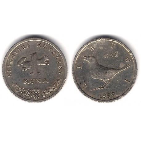 (9.1) Croacia. 1999. 1 Kuna (BC)