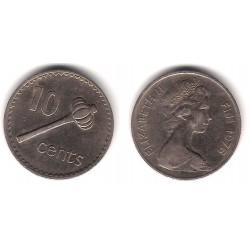 (30) Islas Fiji. 1976. 10 Cents (MBC)