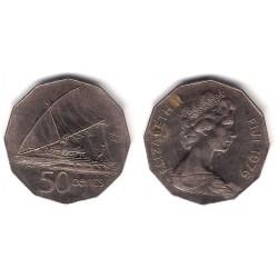 (36) Islas Fiji. 1976. 50 Cents (MBC)