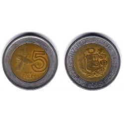(313) Perú. 1995. 5 Soles (BC)