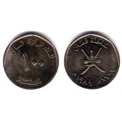 (68) Omán. 1984. 100 Baisa (EBC+)