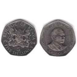 (23a) Kenia. 1994. 5 Shillings (MBC)