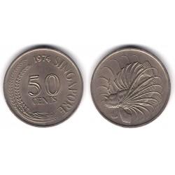 (5) Singapur. 1974. 50 Cents (MBC)