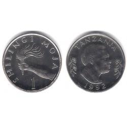 (11) Tanzania. 1992. 1 Shillingi (SC)