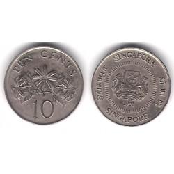 (51) Singapur. 1991. 10 Cents (MBC)