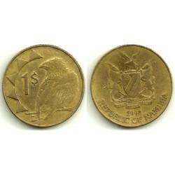 (4) Namibia. 2002. 1 Dollar (BC)