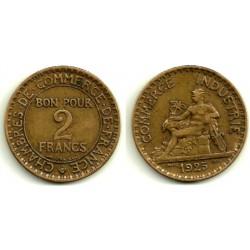 (877) Francia. 1925. 2 Francs (MBC)