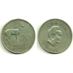 (13) Zambia. 1968. 20 Ngwee (MBC-)