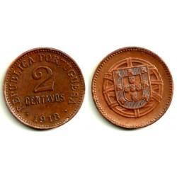 (568) Portugal. 1918. 2 Centavos (EBC+)