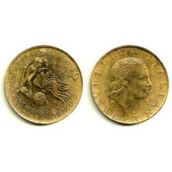 (218) Italia. 1999. 200 Lira (EBC+)