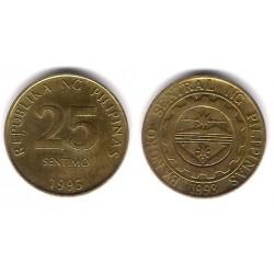 (271) Filipinas. 1995. 25 Sentimo (BC)